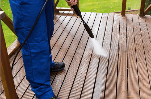 deck cleaning alexandria