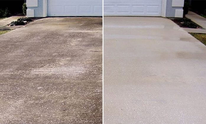 alexandria driveway cleaning