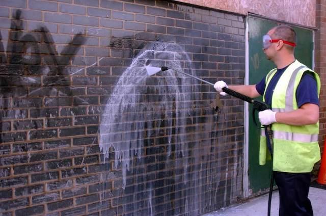 graffiti removal in alexandria
