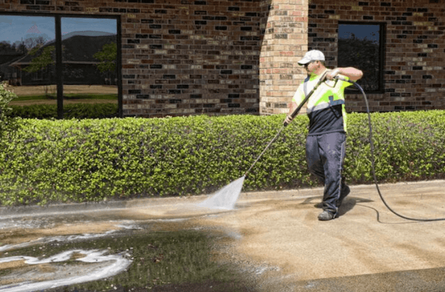 commercial concrete cleaning in alexandria